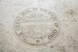 Seal of Ohio in Fort Bonifacio, Manila, Philippinesの写真素材 [FYI03808025]