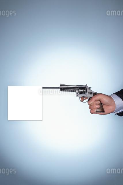 Blank Gunshotの写真素材 [FYI03808065]