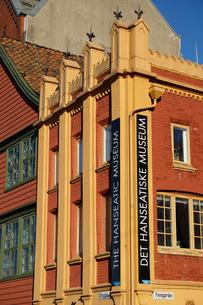 Hanseatic museum building, Bryggen, Bergen, Norway, Hordaland, Scandinaviaの写真素材 [FYI03811090]