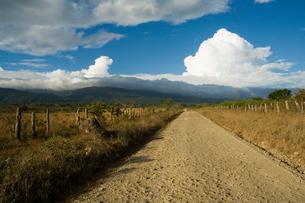 Clouds over the Rincon Volcano, near Rincon de la Vieja National Park, Gaunacaste, Costa Ricaの写真素材 [FYI03811106]
