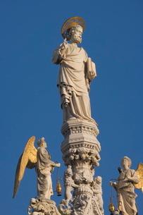 Detail of St. Mark's Basilica, Venice, Venetoの写真素材 [FYI03811188]