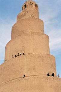 Al Malwuaiya Tower (Malwiya Tower) (minaret), Samarra, Iraq, Middle Eastの写真素材 [FYI03811860]