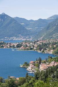 Tremezzo, Lake Como, Lombardy, Italian Lakesの写真素材 [FYI03812001]