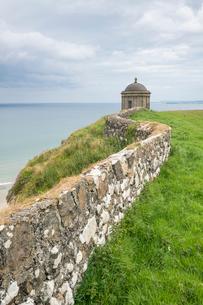 Mussenden Temple, Castlerock, County Londonderry, Ulster region, Northern Ireland, United Kingdom, Eの写真素材 [FYI03812349]