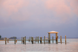 Marsh Harbour, Pier, Great Abaco, Abaco Islands, Bahamas, West Indies, Central Americaの写真素材 [FYI03812443]