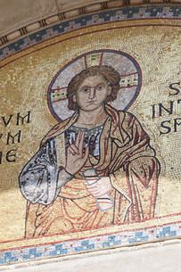 Euphrasian Basilica, UNESCO World Heritage Site, Porec, Istra Peninsula, Croatia, Europeの写真素材 [FYI03812535]