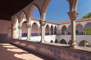 Claustro da Lavagem cloister, Convento de Cristi (Convent of Christ) Monastery, UNESCO World Heritagの写真素材 [FYI03812585]