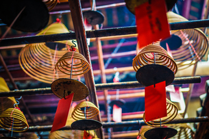 香港・文武廟の写真素材 [FYI03813860]