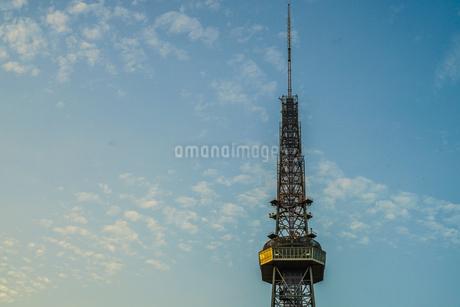 名古屋テレビ塔と夕景の写真素材 [FYI03813873]