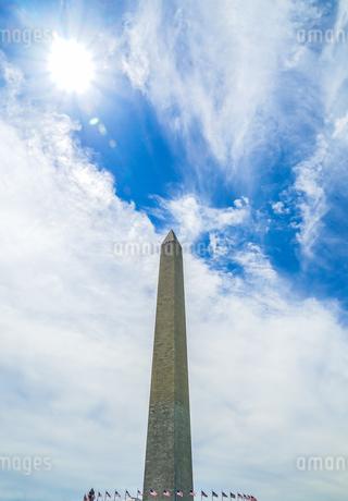 ワシントン記念塔のイメージの写真素材 [FYI03813878]