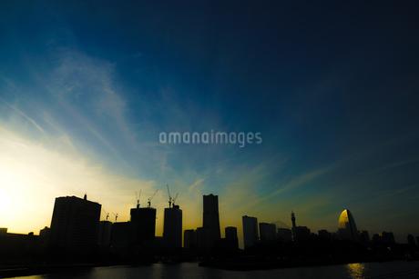 横浜・みなとみらいの都市開発風景(2018年11月)の写真素材 [FYI03813894]