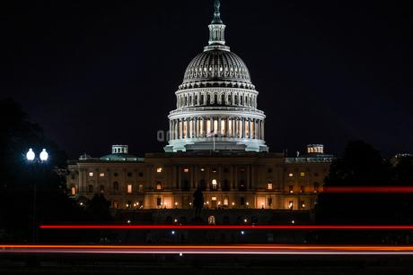 アメリカ合衆国議会議事堂(United States Capitol)の写真素材 [FYI03813899]