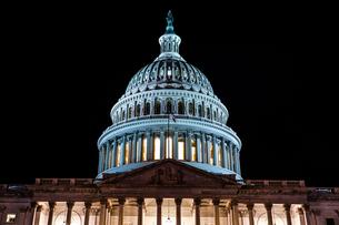 アメリカ合衆国議会議事堂(United States Capitol)の写真素材 [FYI03813900]