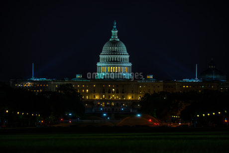 アメリカ合衆国議会議事堂(United States Capitol)の写真素材 [FYI03813901]