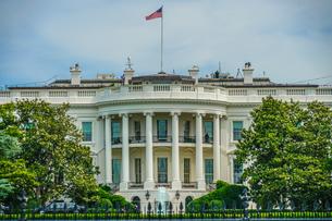 ホワイトハウス(ワシントンDC)の写真素材 [FYI03813960]
