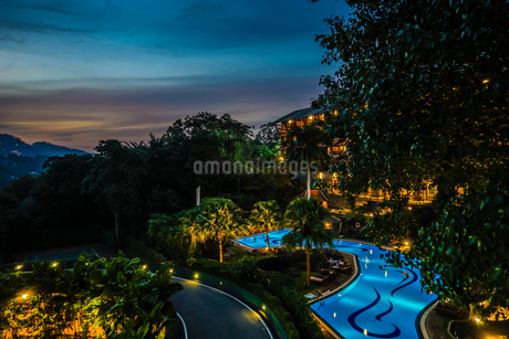 ラグジュアリーホテルのイメージ(スリランカ・キャンディー)の写真素材 [FYI03813978]
