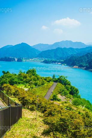 宮ヶ瀬ダム(神奈川県)の写真素材 [FYI03813999]