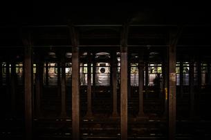 ニューヨークの地下鉄のイメージの写真素材 [FYI03814003]