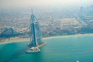 ドバイ(アラブ首長国連邦)の都市風景の写真素材 [FYI03814035]