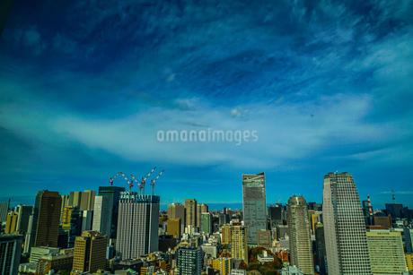 東京タワー展望台から見える東京の街並みの写真素材 [FYI03814062]