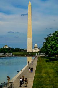 ワシントン記念塔(ワシントンDC)のイメージの写真素材 [FYI03814081]
