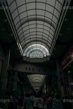 仙台のアーケードのイメージの写真素材 [FYI03814082]