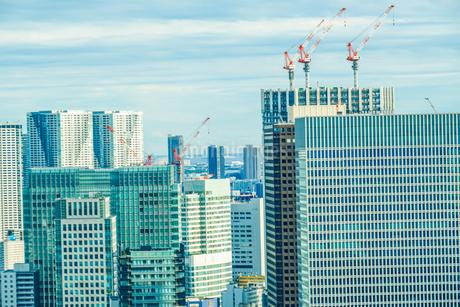 東京タワー展望台から見える東京の街並みの写真素材 [FYI03814105]