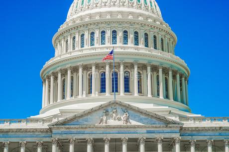 アメリカ合衆国議会議事堂(United States Capitol)の写真素材 [FYI03814108]