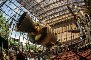ロケットエンジンのイメージの写真素材 [FYI03814110]