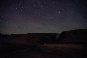 アイスランドのスコゥガフォスの滝の写真素材 [FYI03814210]
