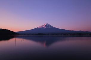 朝焼けの富士山の写真素材 [FYI03814303]
