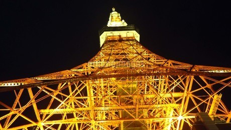 東京タワーの写真素材 [FYI03814404]