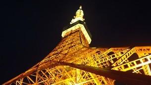 東京タワーの写真素材 [FYI03814405]