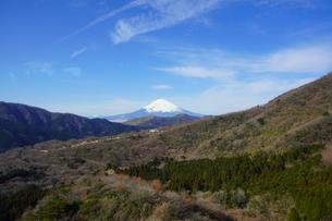 箱根 駒ヶ岳山頂から望む富士山の写真素材 [FYI03814609]