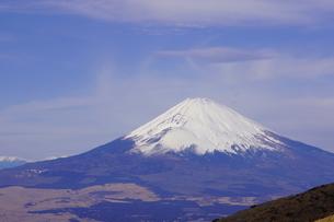 箱根 駒ヶ岳山頂から望む富士山の写真素材 [FYI03814610]