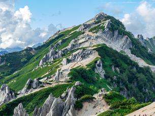 燕岳の写真素材 [FYI03814730]