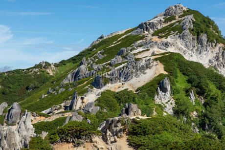 燕岳の写真素材 [FYI03814734]