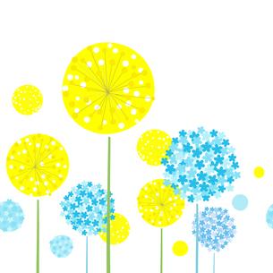 花の背景素材 シームレスのイラスト素材 [FYI03815190]