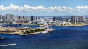 東京ベイエリア(芝浦から豊洲方向)の写真素材 [FYI03815277]
