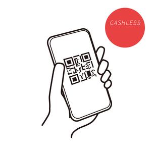 スマートフォン QRコード イラストのイラスト素材 [FYI03815338]