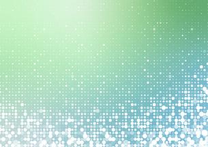 ランダムの水玉とグラデーションの背景イメージのイラスト素材 [FYI03815837]
