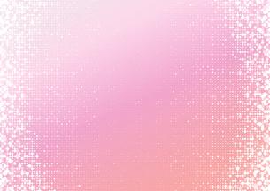 ランダムの水玉とグラデーションの背景イメージのイラスト素材 [FYI03815842]