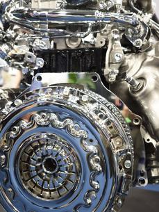 ディーゼルエンジンのカットモデルの写真素材 [FYI03816283]