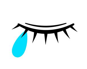 涙のイラスト素材 [FYI03816696]