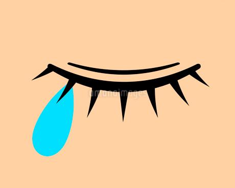 涙のイラスト素材 [FYI03816697]
