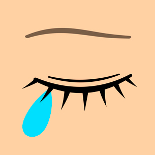 涙のイラスト素材 [FYI03816699]