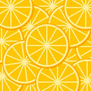 オレンジスライスのイラスト素材 [FYI03816724]