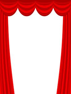 ステージカーテンのイラスト素材 [FYI03816740]
