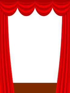 ステージカーテンのイラスト素材 [FYI03816741]