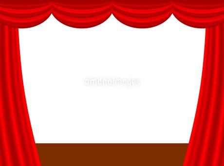 ステージカーテンのイラスト素材 [FYI03816743]